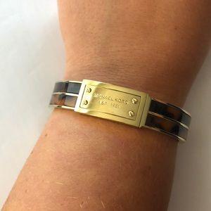Michael Kors Gold and tortoise bracelet